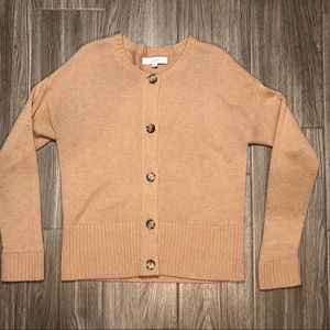 Ann Taylor LOFT Button Up Sweater - Size L
